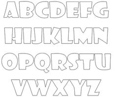 Name: 'Sewing : Alphabet Applique Template Printable Lettering Tutorial, Stencil Lettering, Graffiti Lettering Fonts, Hand Lettering Alphabet, Doodle Lettering, Graffiti Alphabet, Block Lettering, Block Letter Fonts, Letter Templates Free
