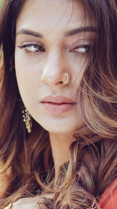 Every Day Use Stylish Nose Ring Design Nose Ring Jewelry, Nose Piercing Jewelry, Beautiful Girl Indian, Most Beautiful Indian Actress, Girls With Nose Rings, Ring Designs, Pretty Zinta, Unique Nose Rings, Nose Jewels