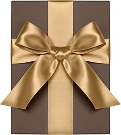 Vintage Gold Satin Ribbon on the vase for cards - gift table