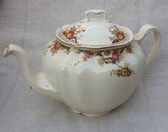 in a bit of chintz – like this Johnson Bros. Victorian teapot