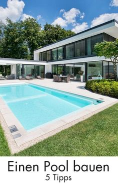 Many homeowners dream of having their own pool in the garden. Build a pool: 5 tips for swimming fun. Informations About Einen Pool bauen: 5 Tipps für den Badespaß P