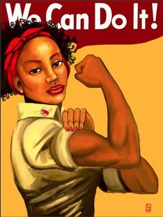 We Can Do It - 18 x 24 Print - Delta Sigma Theta This work by Lindsey Jordan was inspired by the history and legacy of Delta Sigma Theta.not a delta but love seeing this portrait with a woman of color! Black Love, Black Is Beautiful, Delta Girl, By Any Means Necessary, Black Women Art, Black Art, Delta Sigma Theta, Rosie The Riveter, Sorority And Fraternity