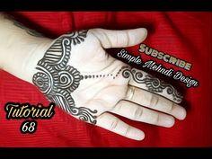 Beginner Henna Designs Easy Palm Mehendi Designs For Kids, Palm Henna Designs, Arabic Bridal Mehndi Designs, Palm Mehndi Design, Indian Henna Designs, Mehandi Designs Easy, Mehndi Designs For Beginners, Mehndi Design Images, Best Mehndi Designs