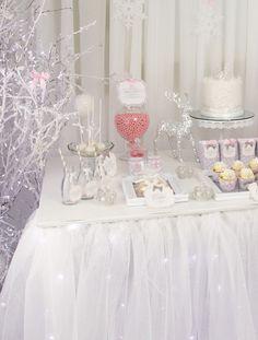 Wintery Snow Princess party
