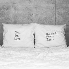 słowa, które odmienią każde wnętrze! białe, gładkie poszewki z zakładką 20 cm, 2 szt.100% bawełna (satynowana) prać ręcznie na lewej stronie maks. temp. 30°C seria: INSPIRATION #whiteplace #whiteplacepl #pillow #poszewka #dekoracja #prezent #gift #go #be #love #theworldneedsyou #poszewkadekoracyjna #homedecor #poszewki #poszewkidekoracyjne #pieknasypialnia #mojasypialnia #fome #decor #dom #codziennosc #dailiness #myhome #mojdom #wnetrza #interior #interiors