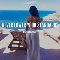Don't feel bad for sticking to your expectations. Join the #Bossbabe Netwerk™ (click the link in our profile)