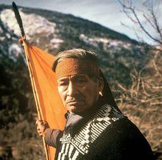 Mapuche elder in Chile
