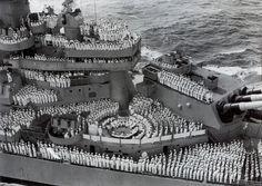 USS Missouri. My grandaddy's ship during WWII