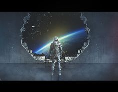 Working On Myself, New Work, Sci Fi, Behance, Concept, Gallery, Illustration, Check, Design