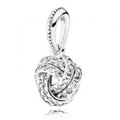 LXBOUTIQUE – Pendente Pandora Nó de Amor – 390385CZR