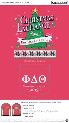Phi Delta Theta Christmas Shirt | Fraternity Christmas Shirt | Greek Christmas Shirt #phideltatheta #phidelt #Christmas #Shirt #tree #lights #festive