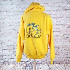 02caec3a8c Vintage OP Ocean Pacific Fleece Hoodie MEDIUM 80s Retro Surf Club 1986