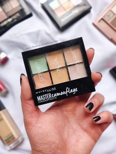 Maybelline MASTER Camouflage Concealer Palette - 01 Light | Review and Swatches
