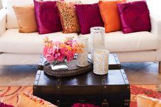Orange & Pink Room