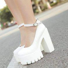Dr Shoes, Cute Shoes, Me Too Shoes, Cute Pumps, Cute High Heels, Shoes Men, Platform High Heels, High Heel Pumps, Stilettos