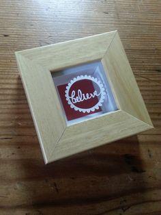 'Believe' - Original Miniature Paper Cut