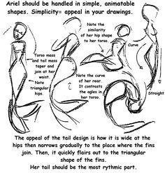 Walt Disney Model Sheets - Princess Ariel - walt-disney-characters Photo
