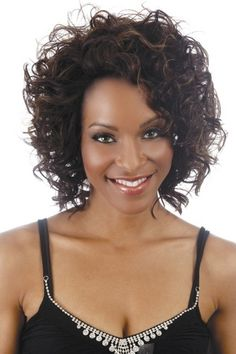 Capture hearts everywhere with the Flirt Lace Front Wig by Vivica Fox! As part of the brand's Lace Front Collection, this medium length hair style shows off tousled barrel curls and tapered ends which make this style a great addition to your style routine Cheap Lace Front Wigs, Cheap Wigs, Synthetic Lace Front Wigs, Synthetic Wigs, Beauty Supply Store Wigs, Vivica Fox, Short Curly Wigs, Barrel Curls, Jon Renau