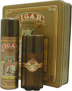 Cigar By Remy Latour For Men. Gift Set ( Eau De Toilette Spray 3.3 Oz + Deodorant Spray 6.6 Oz ). Review