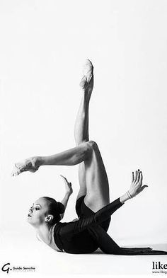 Arina Charopa - Rhythmic Gymnastics Photoshoot