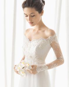 DOMINIC vestido de novia Rosa Clará 2016