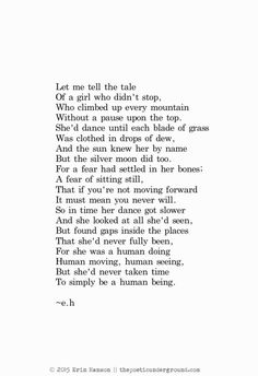 Human. thepoeticunderground.com #poem #poetry Loved this poem...but I love all of her poems too!