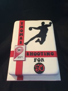 Cake for a handball player