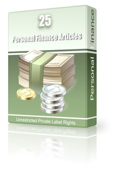 25 Personal Finance Articles - May 2011 (PLR)