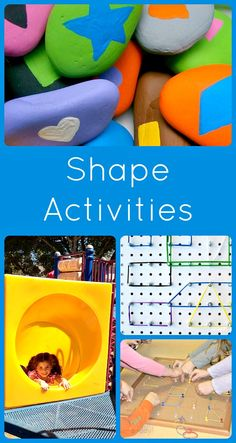 Shape Activities for Kids