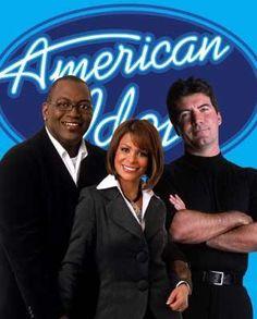 the ORIGINAL american idol <3 with Simon Cowell, Randy Jackson and Paula Abdul. <33