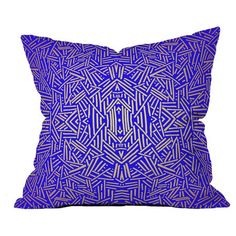 Radiate Gold Royal Pillow at Joss and Main