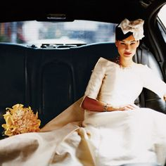 Brides.com: . Wear sleevesIn the early '60s strapless dresses were still considered risqué. Sleeves are a fashionable way to make your wedding style demure.See more gorgeous wedding dress styles with sleeves