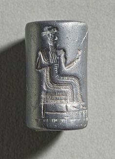 Cylinder Seal Sumer circa 2300 B.C.