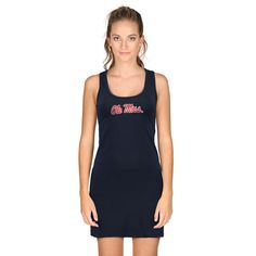 Ole Miss Rebels chicka-d Women's Tank Dress - Navy - $34.99