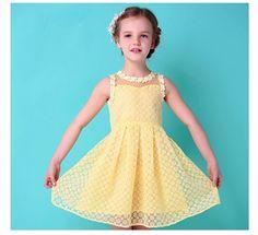 $25.00 (Buy here: https://alitems.com/g/1e8d114494ebda23ff8b16525dc3e8/?i=5&ulp=https%3A%2F%2Fwww.aliexpress.com%2Fitem%2FKids-Dresses-for-Girls-2015-Popular-Baby-Girl-Clothing-Luxury-Newest-Design-Children-s-Dresses-Summer%2F32341259239.html ) Kids Dresses for Girls,2015 Popular Baby Girl Clothing,Luxury Newest Design Children's Dresses Summer,110 cm - 160 cm Baby Girl for just $25.00