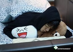 "Daehyun | B.A.P. Though to be honest when I look at a sleeping picture of an kpop artist, I'm all like ""awwwww"" But then I'm then I tell myself to stop being creepy"