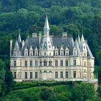 Castle of Boursault - This magnificent castle which overlooks the Marne valley, inspired, it is said, of Chambord, was built in 1845 by Madame Ponsardin, Veuve Cliquot. It has 365 openings, windows and doors, one for every day of the year!