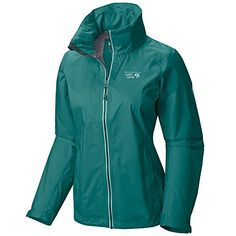 Mountain Hardwear Plasmic Ion Jacket  Womens Glacier Green Large -- Check out the image by visiting the link. This is an Amazon Affiliate links.