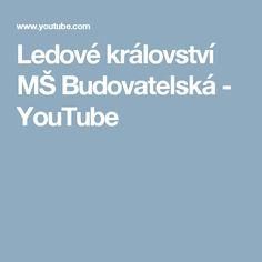 Ledové království MŠ Budovatelská - YouTube