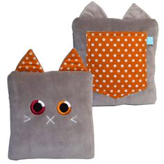 it carries your cell phone, glasses, TV remote, notebook.the possibilities are endless! Coming soon to Kickstarter! Felt Pillow, Plush Pillow, Crafts For Girls, Crafts To Make, Softies, Plushies, Tween Gifts, Tooth Fairy Pillow, Operation Christmas Child