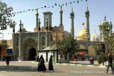 Mausoleo de Fatima en Qom, la Ashura en la ciudad santa de Irán