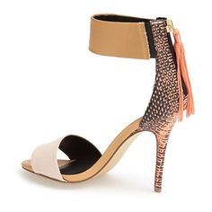 Women's Kendall & Kylie Madden Girl 'Digbyy' Ankle Cuff Sandal (€69) ❤ liked on Polyvore