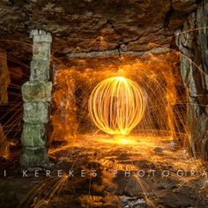 Steel wool spinning 1
