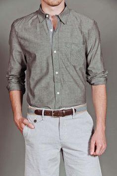 Goodale Tailored Button Down Shirt :}