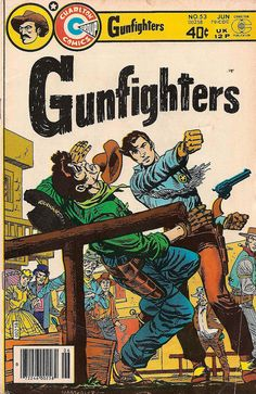Gunfighters Vol. 5 No. 53 - Charlton Comics Group Comic Book c. June 1979 by undoneclothing, via Flickr
