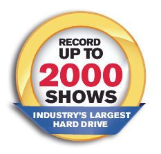 Dish Hopper HD DVR - Industry's Largest Hard Drive