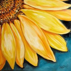 After you've perused the oil painting section on bidorbuy and made your purchase, here are a few tips to caring for them. drawing sunflower 4 Ways to Care for Oil Paintings Sunflower Drawing, Sunflower Art, Yellow Sunflower, Sunflower Paintings, Watercolor Sunflower, Simple Oil Painting, Painting Tips, Painting Techniques, Acrylic Painting Flowers