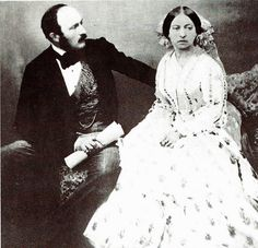 HRH Prince Albert & Queen Victoria she loved him deeply, and plunged into a deep grief upon his death she never quite recovered from.
