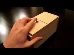 ▶ Useless Box with Surprises - YouTube (I GOTTA have one of those...I would play with it ALL DAY!!!! HAHAHHAA!!)