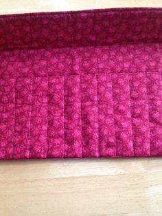 Bamboo 20ct Crochet Hook Organizer Case Fits Bamboo Crochet Hooks 20 pockets Custom Order for Sara